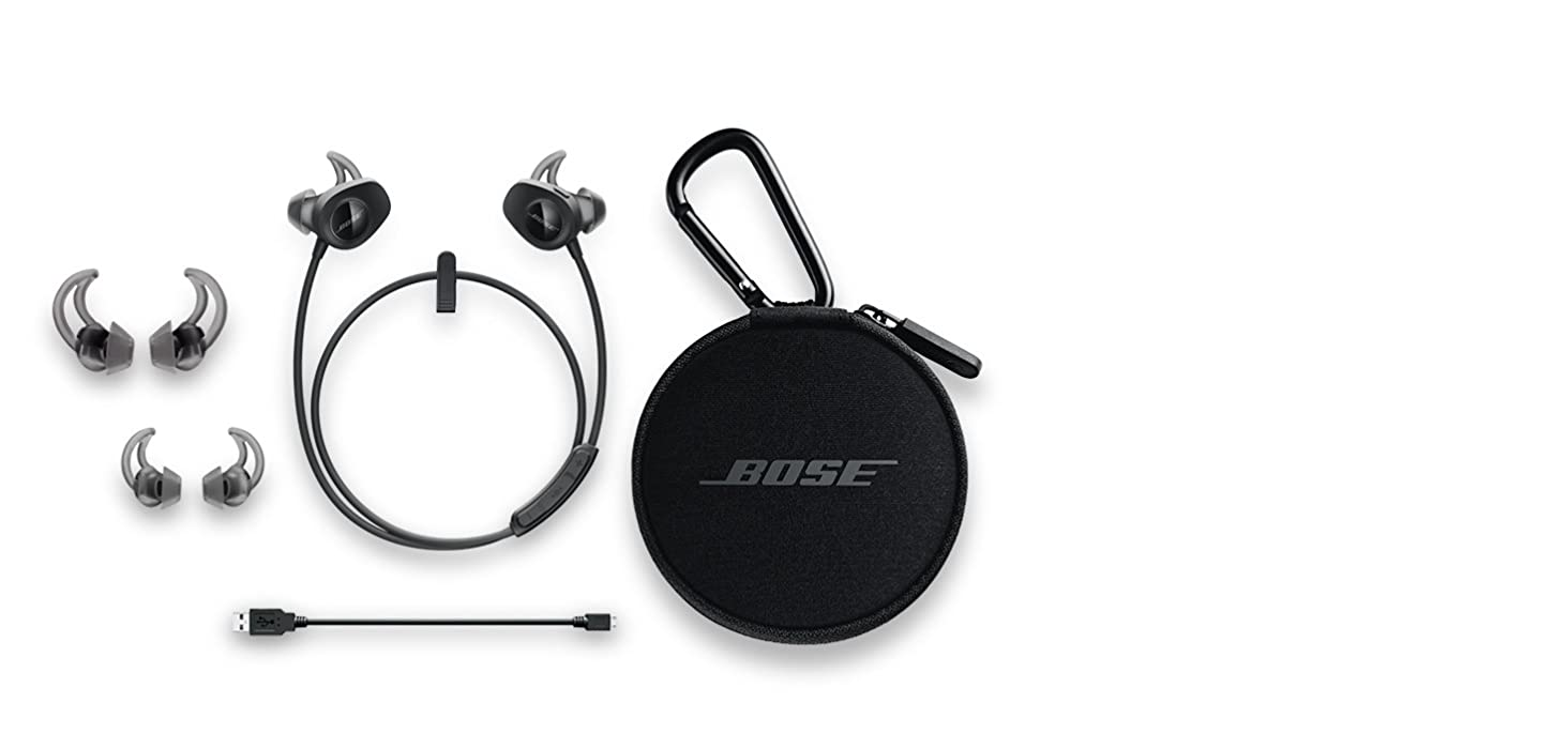 bose headphones sport box. the only challenge left is your workout. bose headphones sport box t