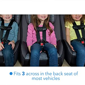 Amazon Cosco Mighty Fit 65 DX Convertible Car Seat Heather