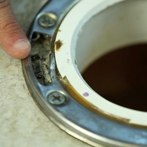 Fixing A Broken Toilet Flange