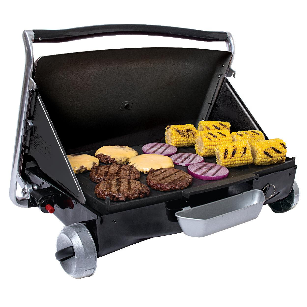 george foreman gp200b portable propane camp tailgate grill portable gas grill. Black Bedroom Furniture Sets. Home Design Ideas