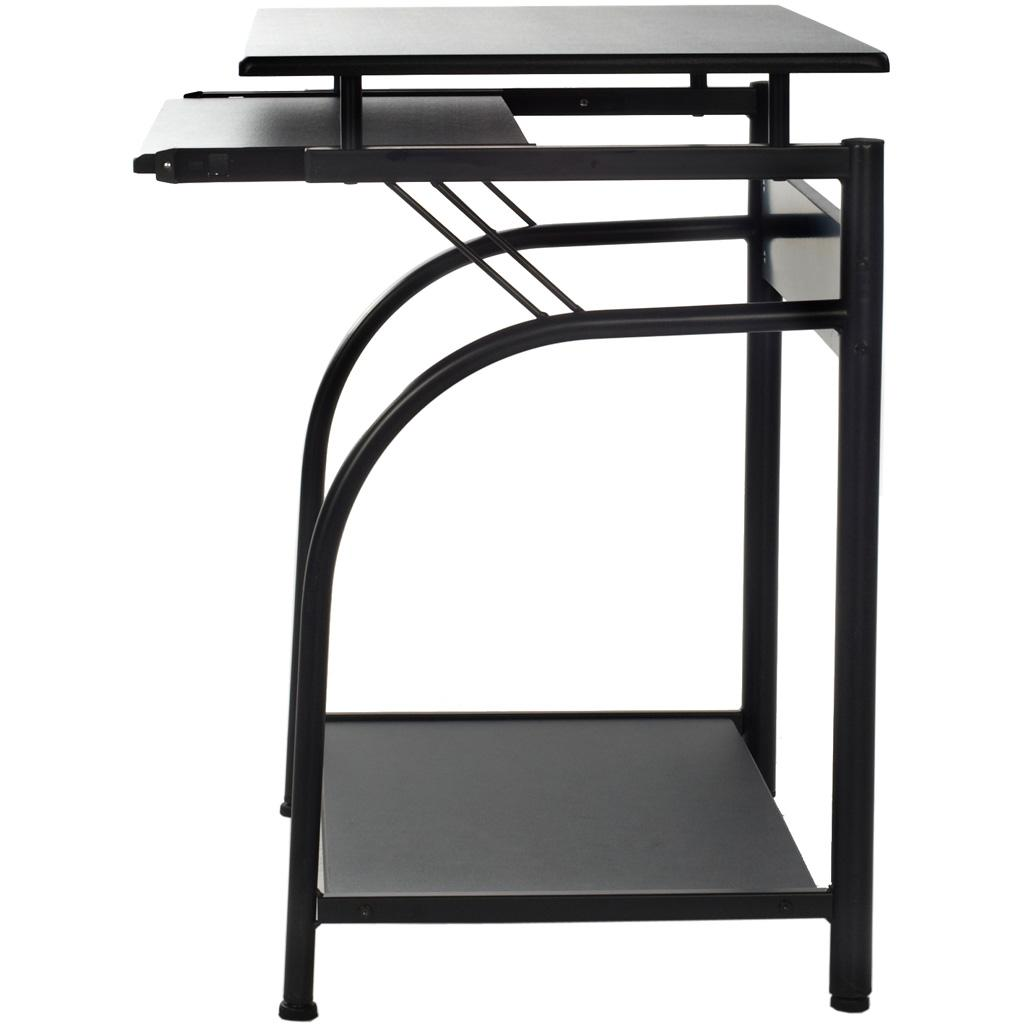 Computer desk workstation laptop small study table home for Small pull out desk