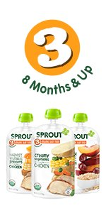 Sprout Organic Stage 3 Pouches