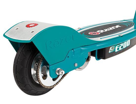 razor e200 electric scooter teal sports. Black Bedroom Furniture Sets. Home Design Ideas