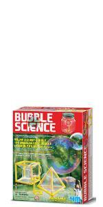 Ciencias de la burbuja por 4M Kidz Labs-Blow un gigante o burbujas Irrompible