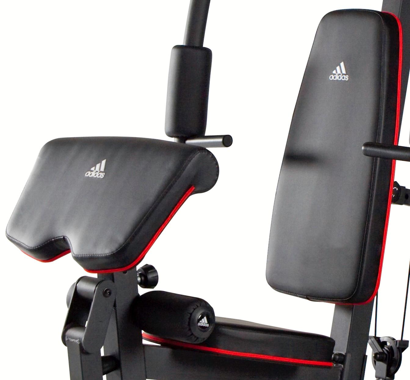 Amazon.com : adidas 200 pound stack home gym : sports & outdoors