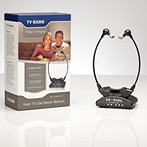 tv ears, tv ears 5.0 digital, tv ears listening system, truedio