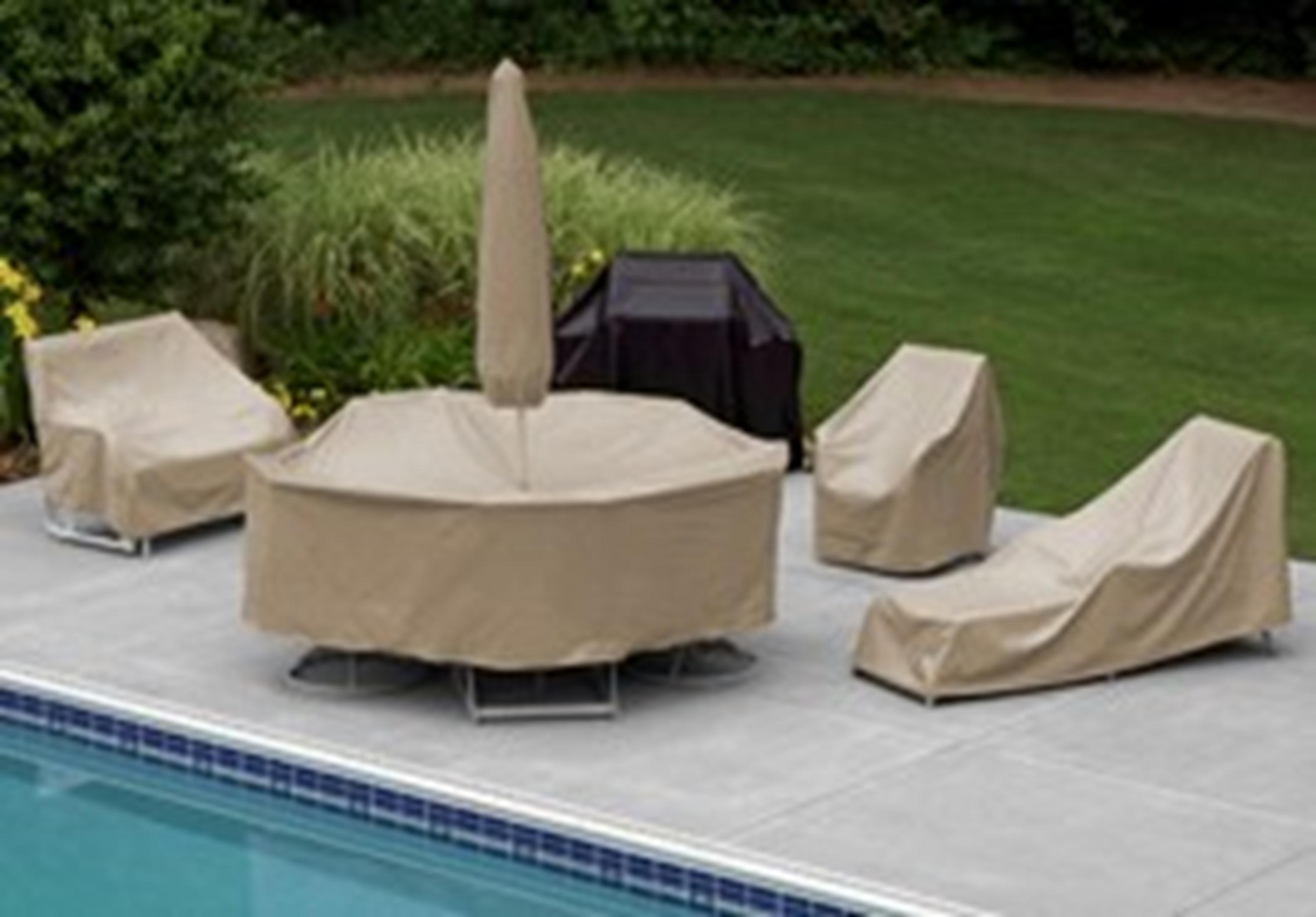 Protective covers weatherproof patio table for Quality patio furniture