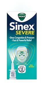 Amazon Com Vicks Sinex Scent Free Nasal And Sinus Spray