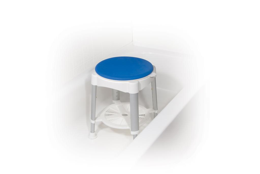 Amazon.com: Drive Medical Bath Stool With Padded Rotating Seat ...