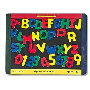 Chalkboard, white board, school toy, educational toy, preschool, alphabet, letters, numbers