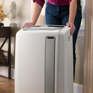 how to set up a portable air conditioner