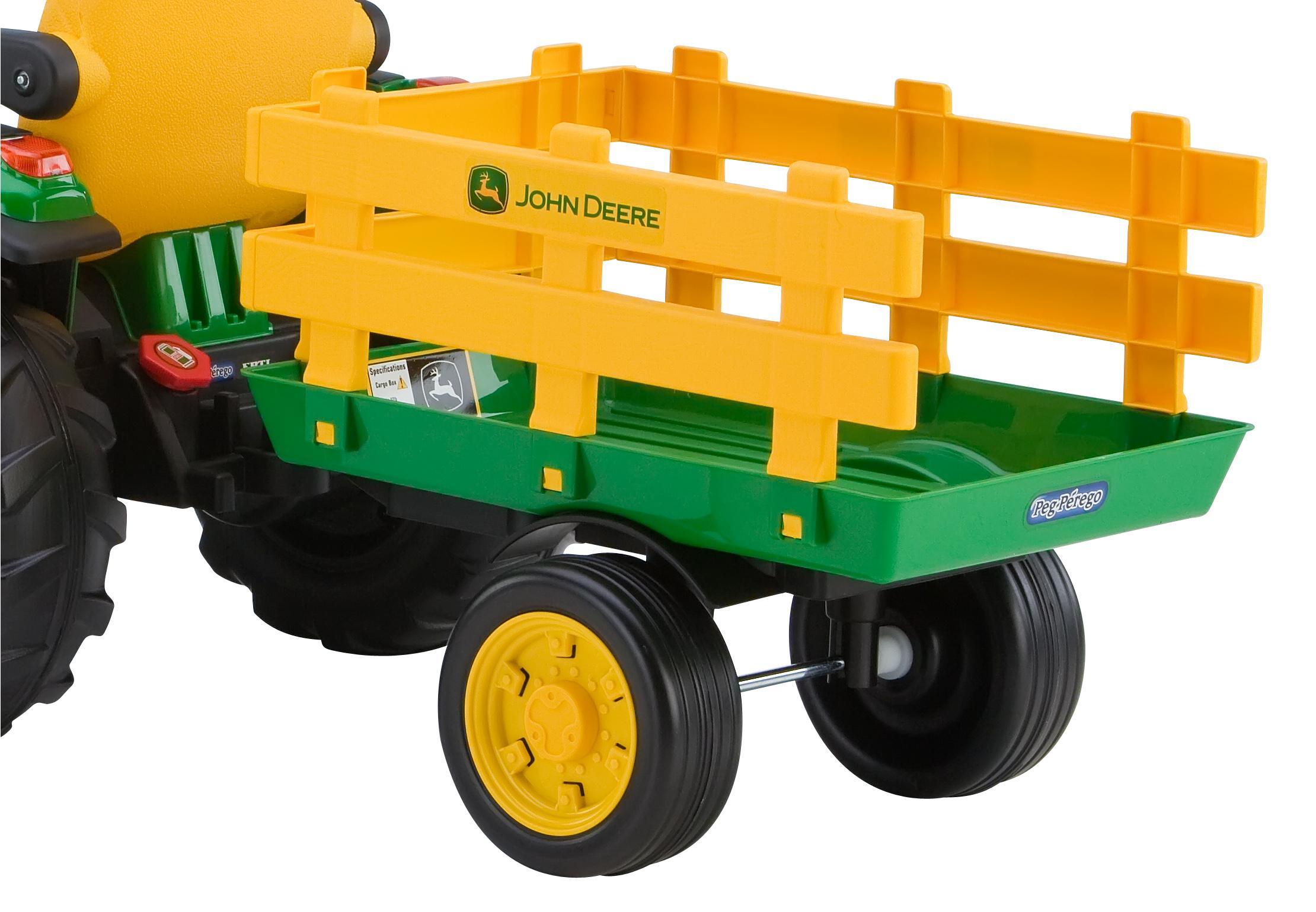 peg perego john deere ground force tractor. Black Bedroom Furniture Sets. Home Design Ideas