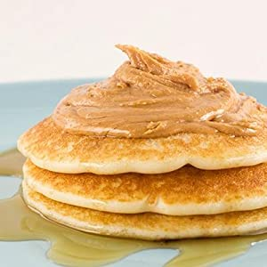 the bees knees peanut butter pancakes stack