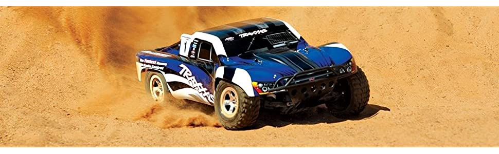 Traxxas 1/10 Slash 2WD RTR with 2 4GHz Radio (No Battery), Red