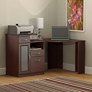 Bush Furniture, Bush Desk, Bush Industries, Vantage, Corner Desk, Office  Desk