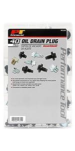 Performance Tool W5236 40pc Oil Drain Plug Assortment