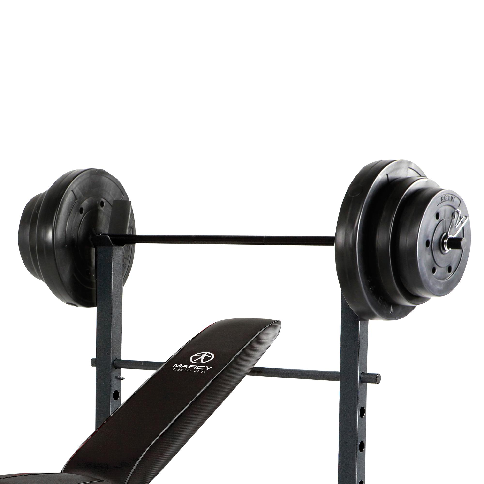 Marcy Standard Bench With 100 Pound Weight Set 28 Images Marcy 100 Lb Weight Set Vinyl From