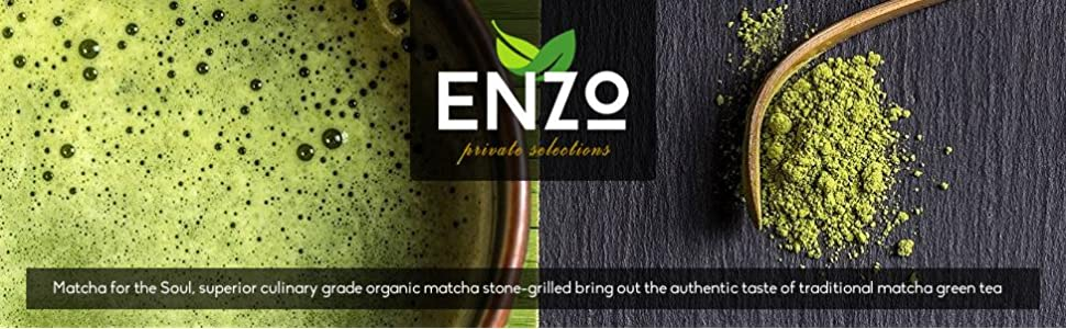 Matcha Green Tea Powder by Enzo Private Selection