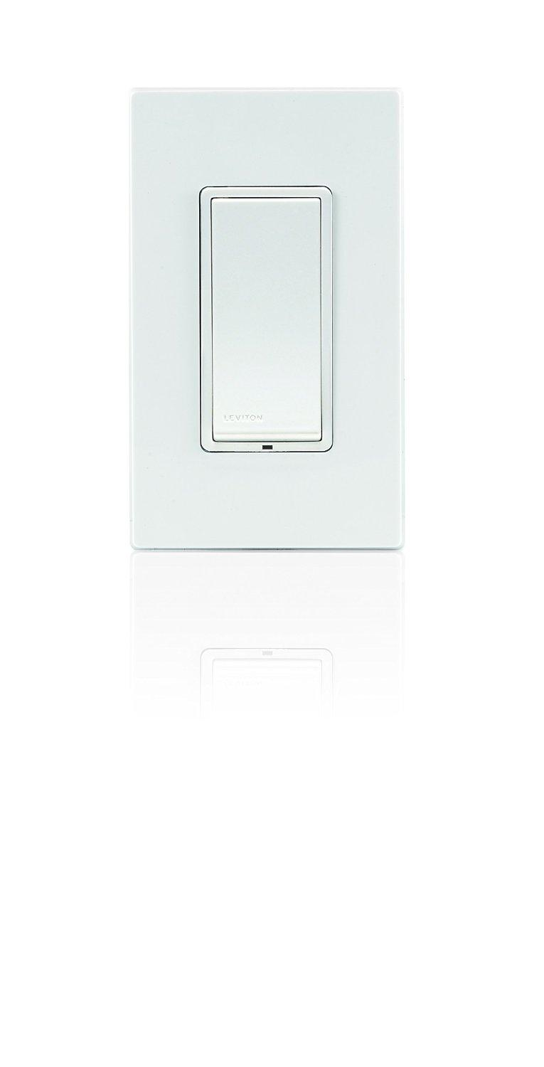 Leviton Decora Switch Z Wave 15 Amp Scene Capable Works With 4 Way At Lowes From The Manufacturer