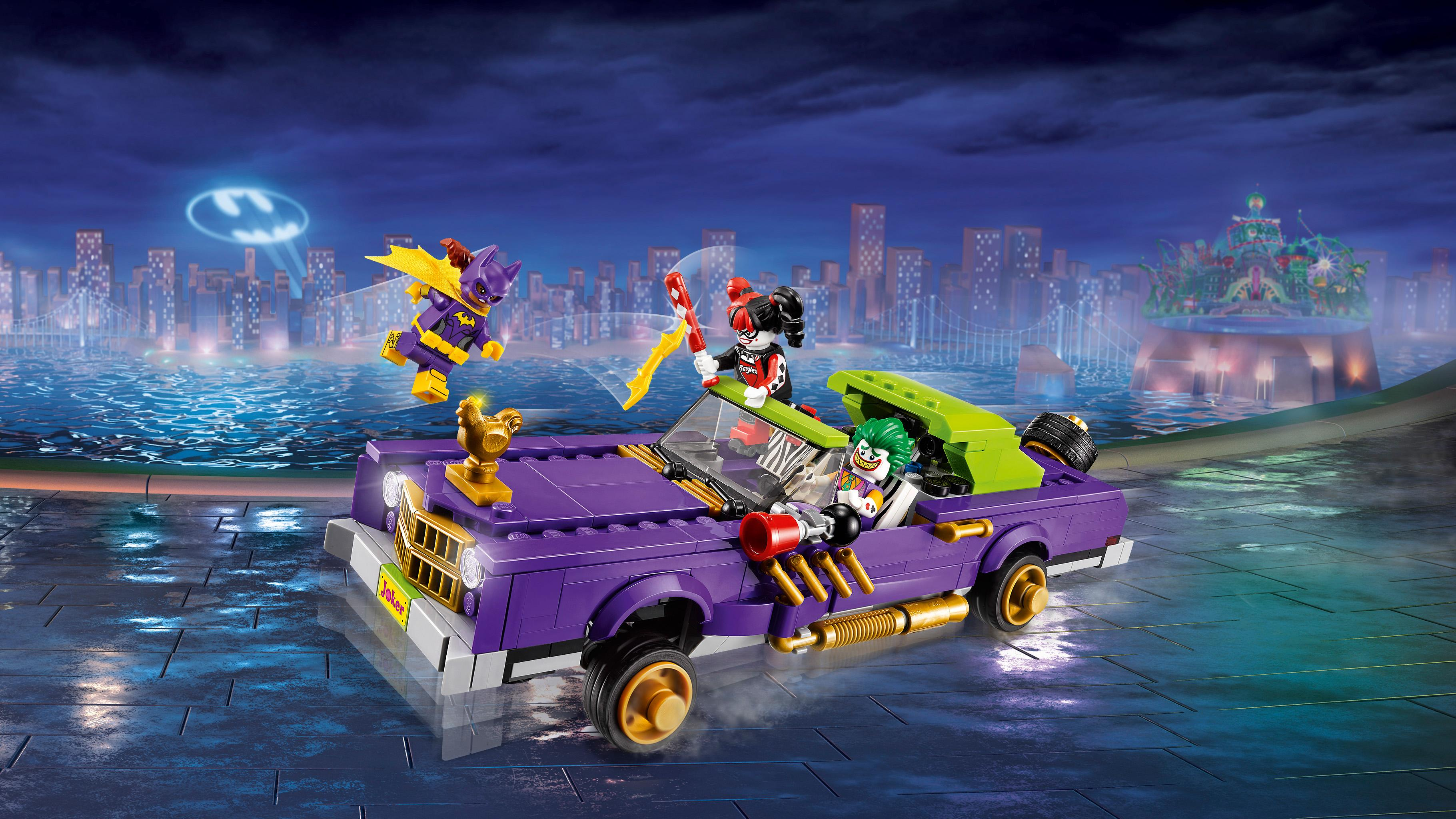 Joker Notorious Lowrider 70906 Building Kit (433 Piece): Toys & Games