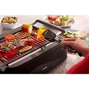 Smokeless grill, kitchenaid, grill pan, sautee pan, burger grill