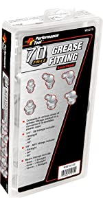 SAE/MET Grease Fitting Assortment