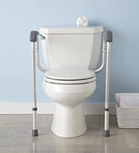 Toilet Safety Support Rails Assist