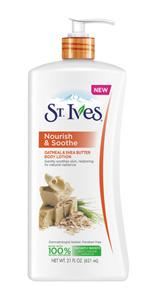 St. Ives Nourish and Soothe Oatmeal and Shea Butter Body Lotion