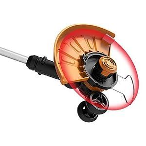 worx gt 2.0 32 volt trimmer edger mini mower for yardwork