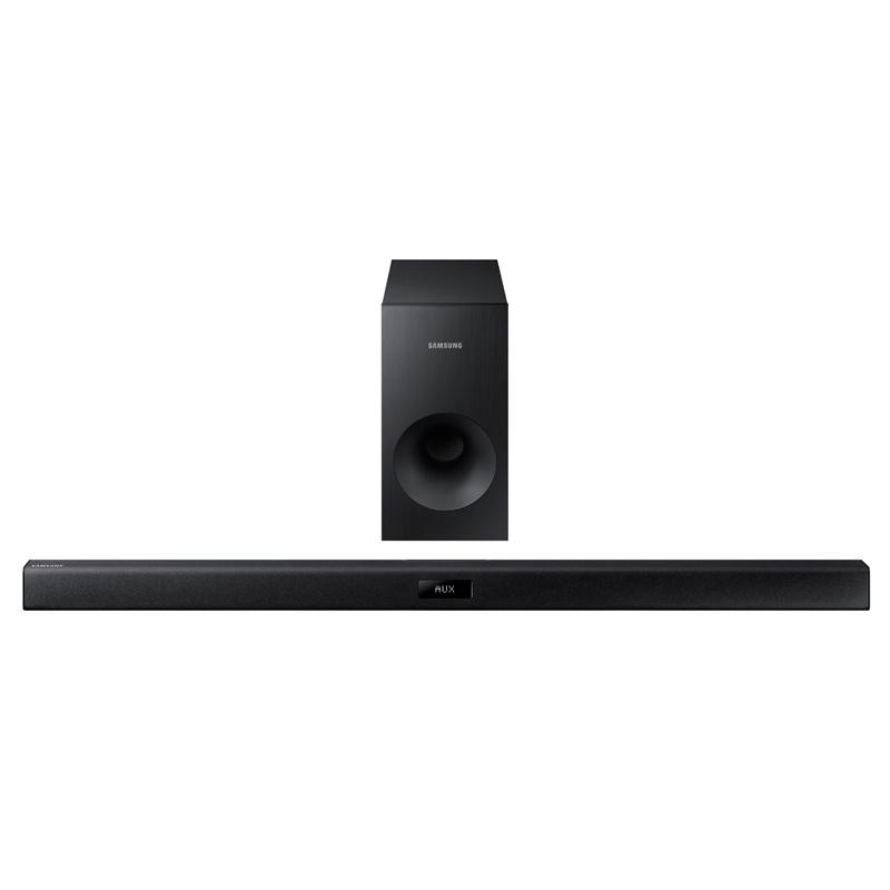 samsung hw j355 2 1 channel 120 watt wired audio soundbar electronics. Black Bedroom Furniture Sets. Home Design Ideas