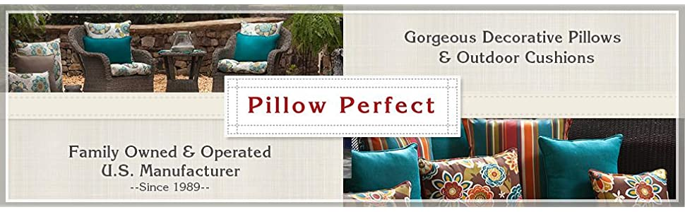 outdoor cushions and decorative pillows