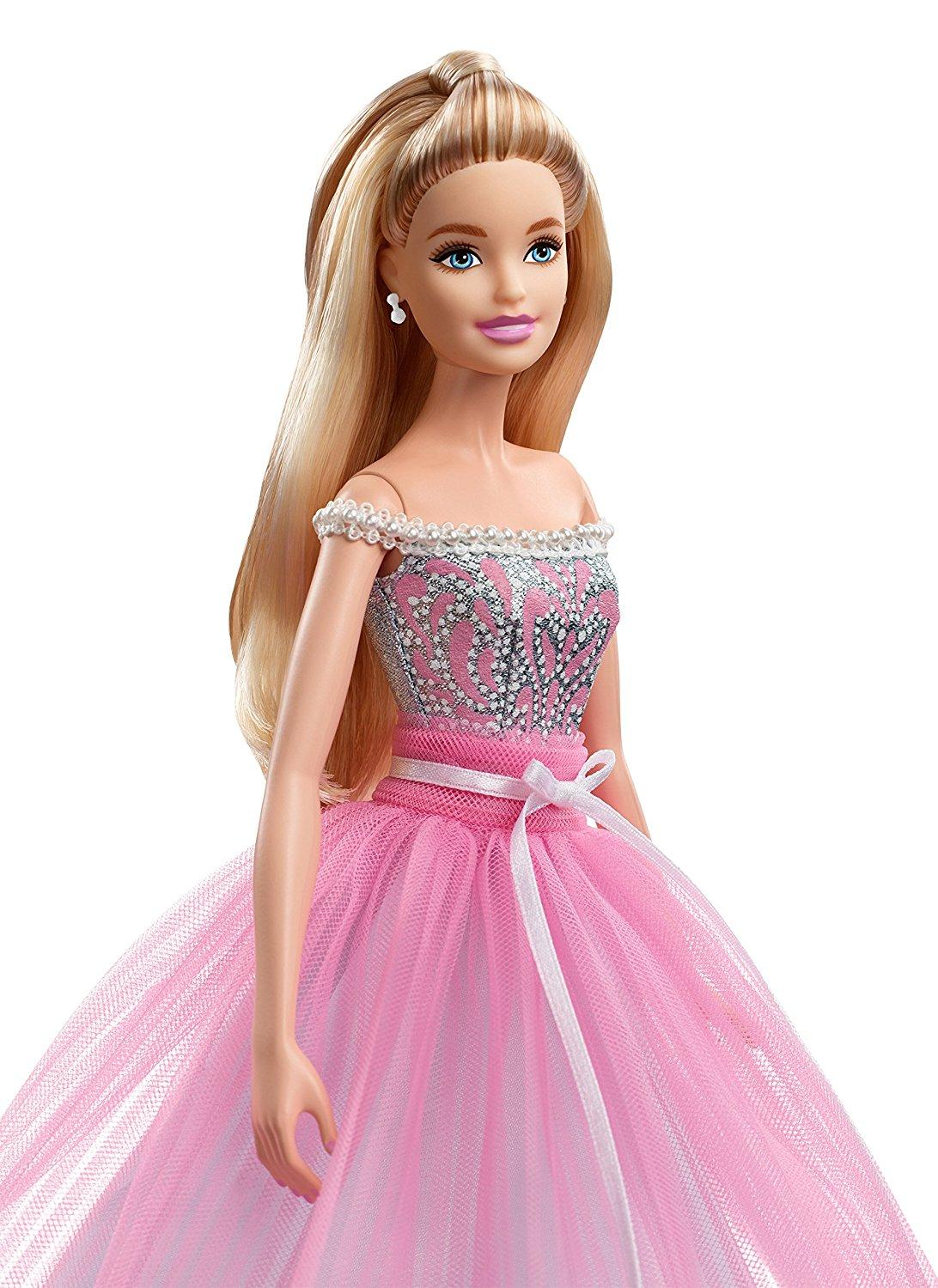 Amazon.com: Barbie Birthday Wishes Collector Doll: Barbie ...