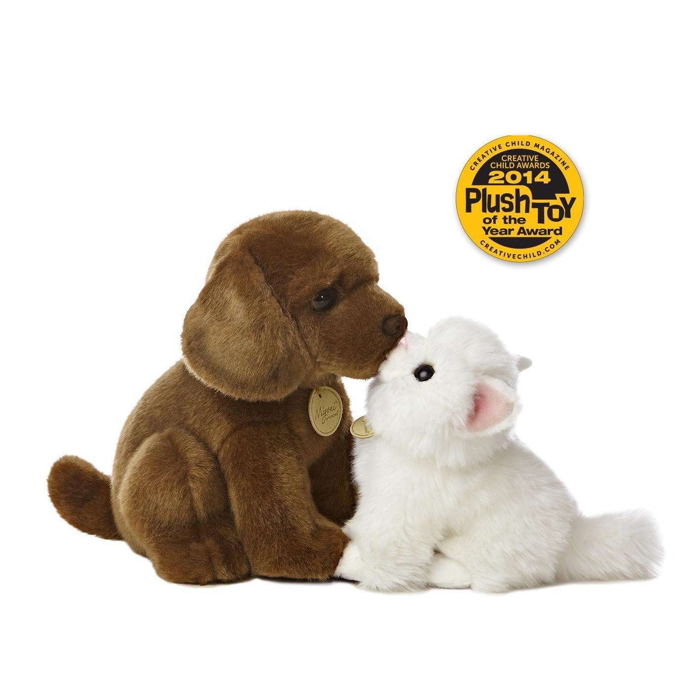 amazon com aurora world miyoni sea otter plush toys u0026 games