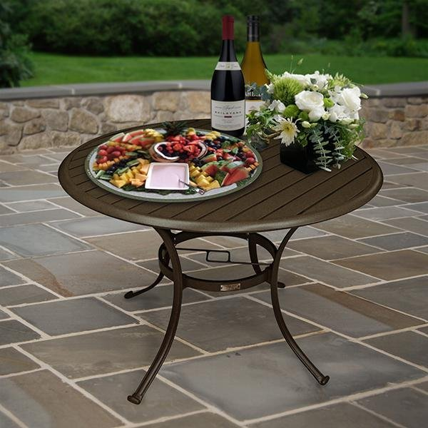 Panama Jack Island Breeze 42 Inch Round Dining Table