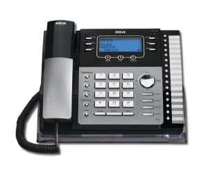4-Line, corded, expandable, desk phone, call waiting caller ID, business phone, speakerphone,