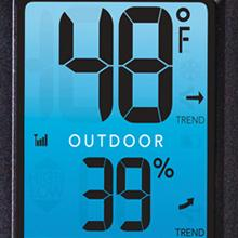 Amazon com: AcuRite 01060M Color Thermometer Display & 3-Sensor