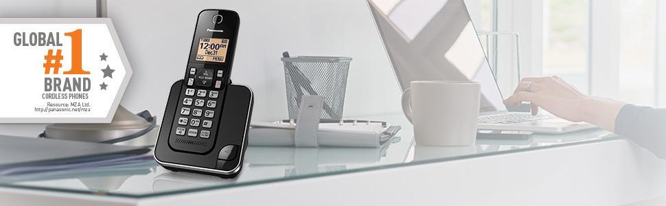 Panasonic KX-TGC350B single phone unit