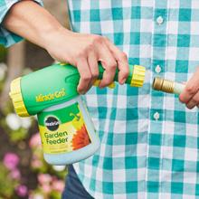miracle gro fertilizer instructions