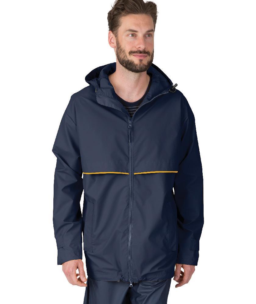 Charles River Apparel Men's New Englander Waterproof Rain Jacket ...