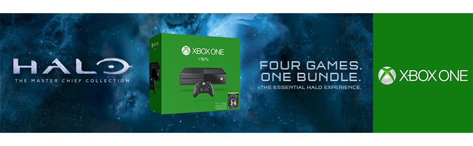 Amazon com: Xbox One 1TB Console - Halo: The Master Chief
