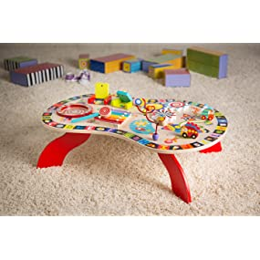 Introduce Your Child To The World With Vibrant Colors And Graphics For  Visual And Tactile Stimulation. Wooden Toys, Musical Instruments And  Building ...