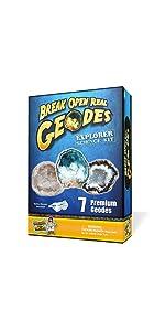 Explorer Geode Science Kit