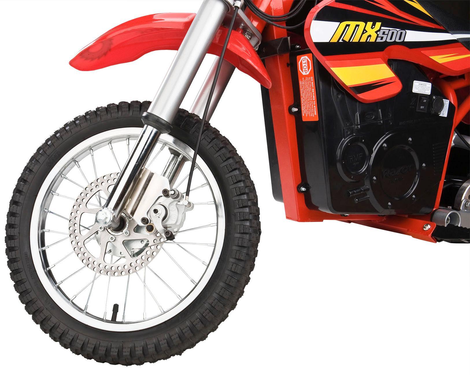 Amazon.com : Razor MX500 Dirt Rocket Electric Motocross Bike : Electric Motorcycle : Sports