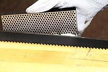 6-inch Diamond Whestone extra-coarse sharpening a machete