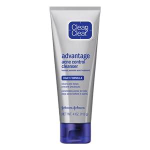 CLEAN & CLEAR ADVANTAGE Daily Acne Control Cleanse