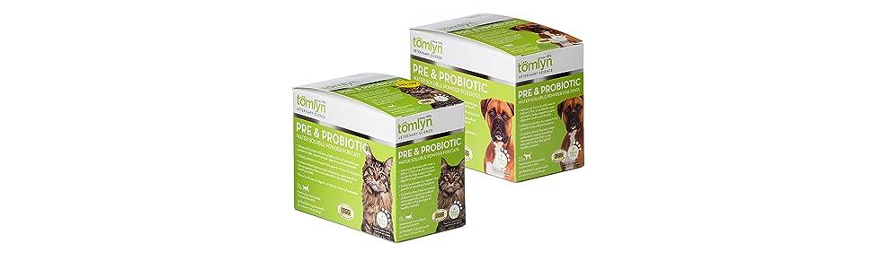 Tomlyn Prebiotic Probiotic Dog Cat Powder Supplement