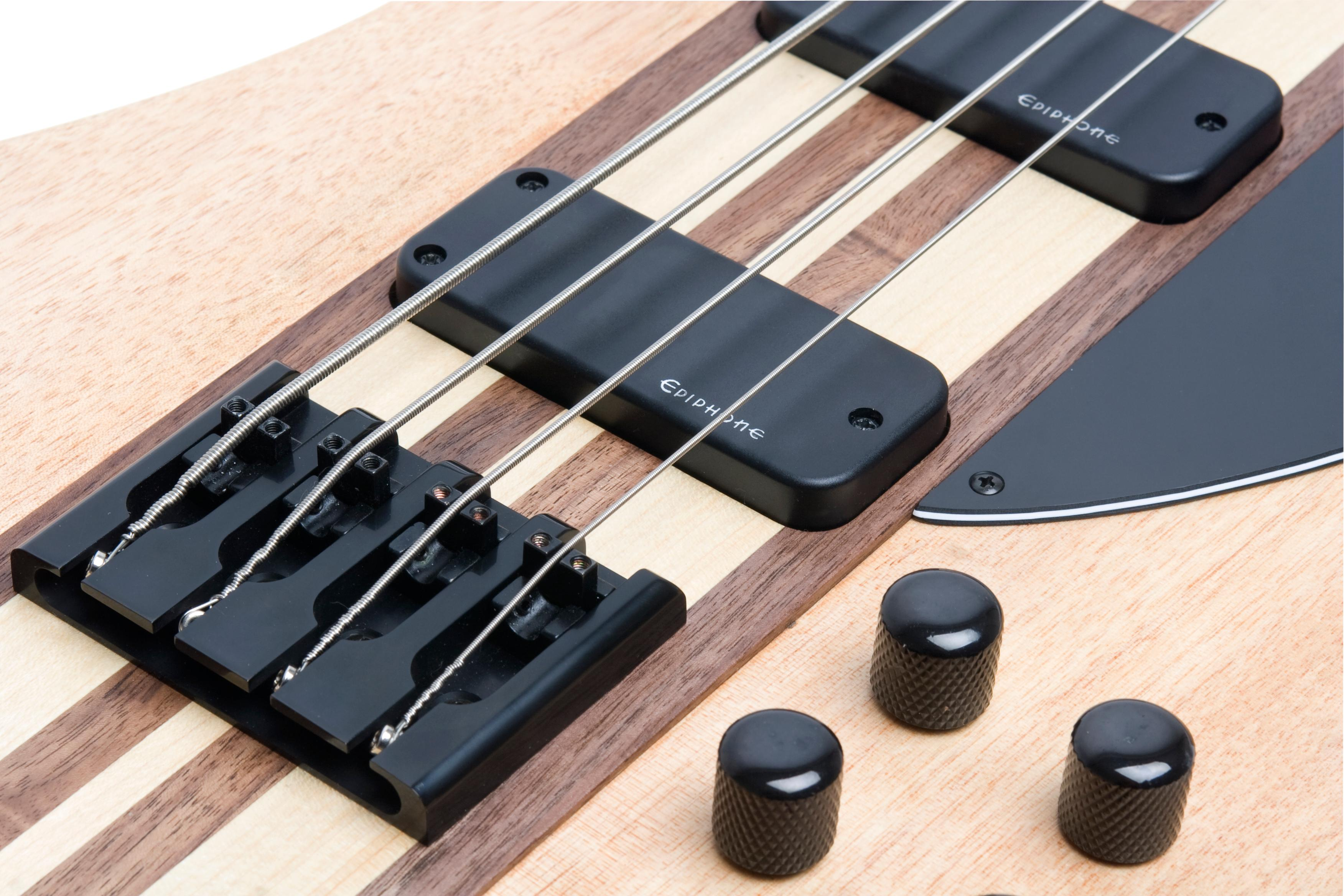 epiphone thunderbird pro iv 4 string electric bass guitar natural oiled finish. Black Bedroom Furniture Sets. Home Design Ideas