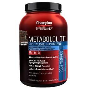 Champion Performance Metabolol II, Chocolate Brownie.