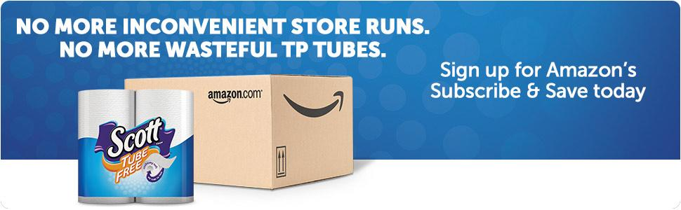 How can I save on toilet paper? Sign up for Subscribe and Save and save a trip to the store.