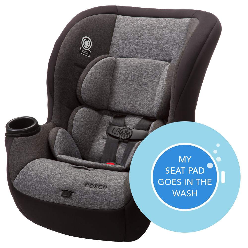 cosco comfy convertible car seat heather granite baby. Black Bedroom Furniture Sets. Home Design Ideas